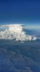 Clouds as seen from 30 Feet above